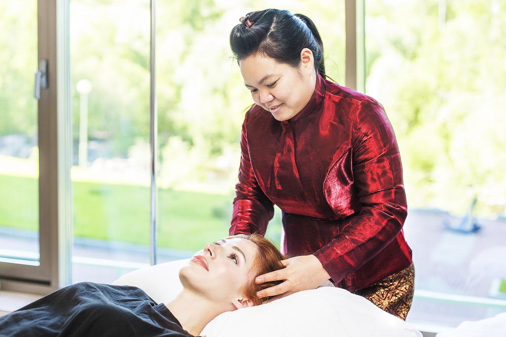 Тайский массаж в Spa центре отеля Карелия