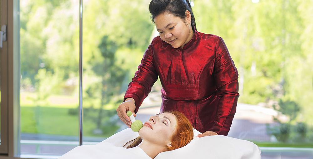 Тайский массаж в отеле Карелия